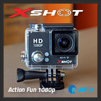 จำหน่าย-ขาย XSHOT Action Life Camera Sport 1080p (Black)
