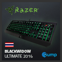 จำหน่าย-ขาย Razer BlackWidow Ultimate 2016 (key-thai , Green-Switch)