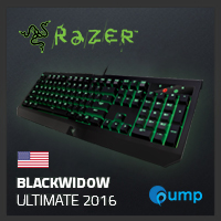 จำหน่าย-ขาย Razer BlackWidow Ultimate 2016 (key-Eng , Green-Switch)