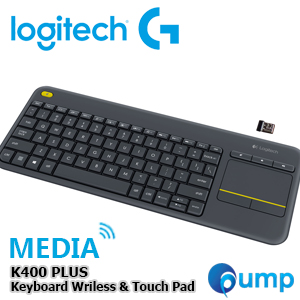 Logitech Media K400 Plus Wireless Touch Keyboard