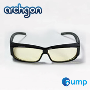 แว่นตา Archgon GL-B301-Y Anti Blue Light Wraparound Glasses - เลนส์ Amber