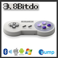 จำหน่าย-ขาย [Retro Bluetooth Joystick] 8Bitdo SNES30 Wireless Bluetooth Gamepad
