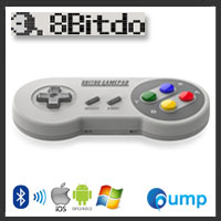 [Retro Bluetooth Joystick] 8Bitdo SFC30 Wireless Bluetooth Gamepad