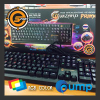 จำหน่าย-ขาย Neolution E-Sport Wizard prime Keyboard - Blue Switches