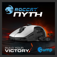 Roccat Nyth Modular MMO Gaming Mouse (White)