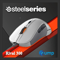 จำหน่าย-ขาย Steelseries Rival 300 Gaming Mouse (White)