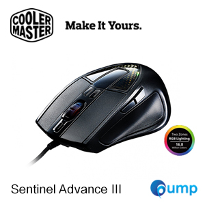 Cooler Master CM Storm Sentinel Advance III RGB Optical Gaming Mouse
