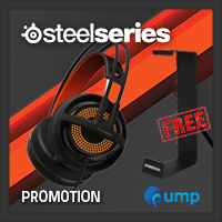 จำหน่าย-ขาย Steelseries Siberia 350 Gaming Headset (Black)