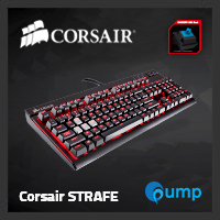 จำหน่าย-ขาย Corsair STRAFE Mechanical Gaming Keyboard — Cherry MX Blue