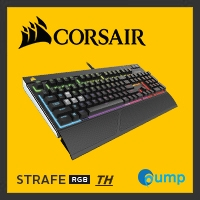จำหน่าย-ขาย Corsair STRAFE RGB Mechanical Gaming Keyboard — Cherry MX Red (Key-Thai)