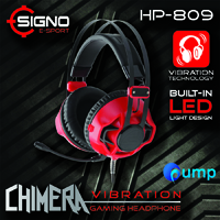จำหน่าย-ขาย Signo E-Sport HP-809 Gaming Headset (Red)