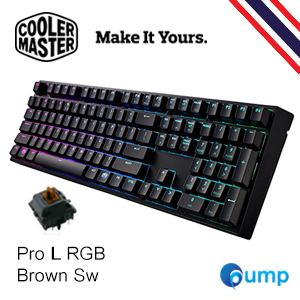 จำหน่าย-ขาย CM Storm MasterKeys Pro L Mechanical RGB Gaming Keyboard [Brown SW]