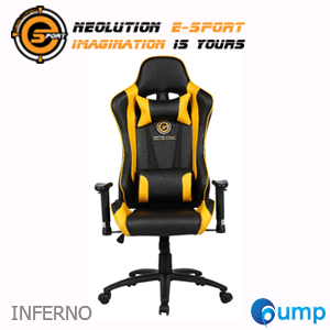 จำหน่าย-ขาย Neolution Esport Inferno V2 Gaming Chair - Yellow [KW-G02]