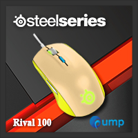 จำหน่าย-ขาย Steelseries Rival 100 Gaming Mouse (Gaia Green)