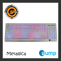 จำหน่าย-ขาย Neolution E-Sport Metallica Gaming Keyboard- White