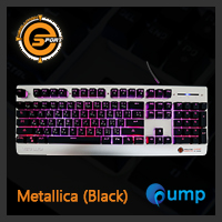 จำหน่าย-ขาย Neolution E-Sport Metallica Gaming Keyboard- Black