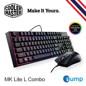 จำหน่าย-ขาย CM Storm MasterKeys Lite L Combo Gaming Keyboard