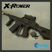 จำหน่าย-ขาย X-ROVER D6 Wireless Gaming Gun (PS3, XBox360, PC)