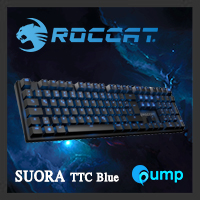 จำหน่าย-ขาย Roccat Suora TTC Blue Switch Gaming Keyboard (TH)