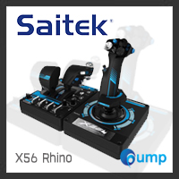 [สั่งซื้อล่วงหน้า] - Saitek Pro Flight X-56 Rhino H.O.T.A.S. System for PC