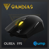 จำหน่าย-ขาย GAMDIAS OUREA FPS Optical Gaming Mouse