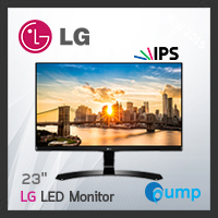 จำหน่าย-ขาย LG LED 23 LG 23MP68VQ-P (HDMI, B, IPS) Monitor
