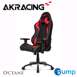 AKRacing Octane Gaming Chair - OCTABR  (Black-Red)