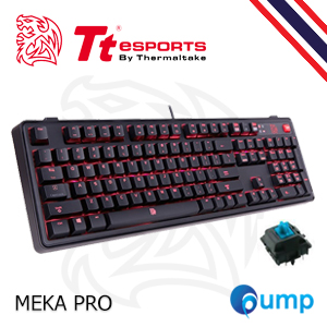 TteSports MEKA PRO CHERRY MX Blue Gaming Keyboard - Key Thai