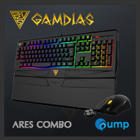 จำหน่าย-ขาย GAMDIAS ARES 7 COLOR COMBO GKC6011 Gaming Bundleset