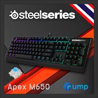 จำหน่าย-ขาย SteelSeries Apex M650 RGB Gaming Keyboard - Blue SW