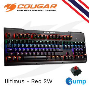จำหน่าย-ขาย Cougar Mechanical Gaming Keyboard Ultimus - Red Switch [Key-Thai]