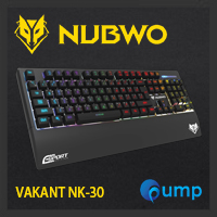 จำหน่าย-ขาย Nubwo VAKANT NK-30 gaming keyboard LED Sound light