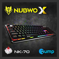 จำหน่าย-ขาย Nubwo NK-70 ILLusion RGB Gaming Mechanical Keyboard [Red Switch]