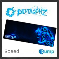 จำหน่าย-ขาย PentagonZ Shardros-EX Mousepad Gaming [Speed]