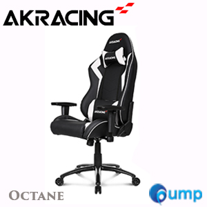 AKRacing Octane Gaming Chair - OCTABW  (Black/White)