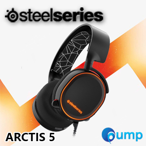 SteelSeries Arctis 5 Wired 7.1 RGB Surround Sound Gaming Headset - Black