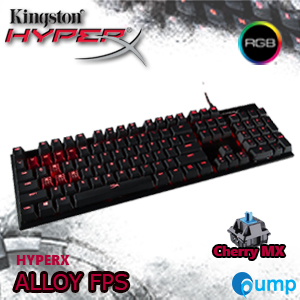 HyperX ALLOY FPS Mechanical Gaming Keyboard - Cherry MX Blue (Key-Eng) - Free Caps Thai