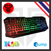 จำหน่าย-ขาย Promotion!! Fantech K10 Backlit Pro Gaming Keyboard - [Key Thai] Free Mousepad MP64 Size Xl