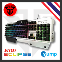 จำหน่าย-ขาย Fantech K710 Bclipse Semi Mechanical Gaming Keyboard - [Key Thai]
