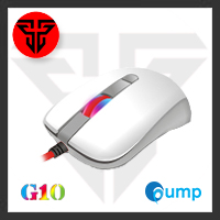 จำหน่าย-ขาย Fantech G10 Optical Gaming Mouse - White