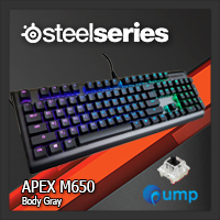 จำหน่าย-ขาย SteelSeries Apex M650 RGB [Body Gray] Gaming Keyboard - Black SW (US)