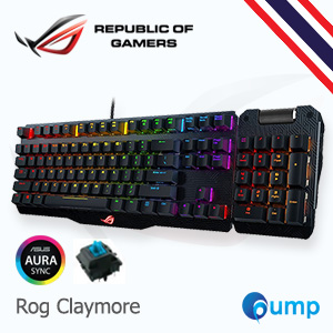 จำหน่าย-ขาย ASUS ROG Claymore RGB Cherry MX Blue Mechanical Gaming Keyboard (Key-Thai)