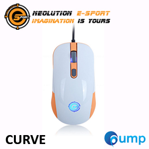 จำหน่าย-ขาย Neolution E-Sport CURVE Gaming Mouse (White)