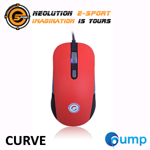 จำหน่าย-ขาย Neolution E-Sport CURVE Gaming Mouse (Red)