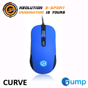 จำหน่าย-ขาย Neolution E-Sport CURVE Gaming Mouse (Blue)