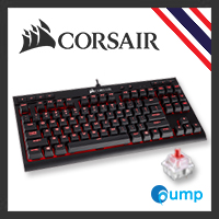 จำหน่าย-ขาย Corsair K63 Compact Mechanical Gaming Keyboard - Cherry MX Red - Red LED (Thai layout)