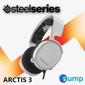 จำหน่าย-ขาย  SteelSeries Arctis 3 Gaming Headset with 7.1 Surround แบบ Analog -  White