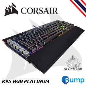 จำหน่าย-ขาย Promotion Sale!! - Corsair K95 RGB PLATINUM Mechanical Gaming Keyboard — Cherry MX Speed  (Thai Layout)