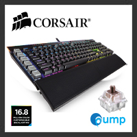 จำหน่าย-ขาย Corsair K95 RGB PLATINUM Mechanical Gaming Keyboard — Cherry MX Brown  (US Layout)