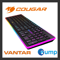 จำหน่าย-ขาย COUGAR VANTAR Scissor Gaming Keyboard - Key TH